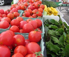 Riverside Farm stand at the Dover Farmers' Market, photo courtesy Seacoast Eat Local