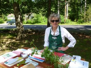 Master Gardener at the Lee Farmers' Market