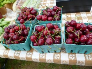 Cherries at the Northwood Farmers' Market