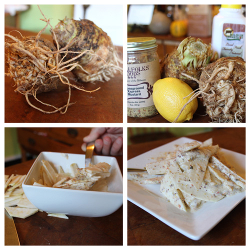 Celery Root a great Thanksgiving recipe