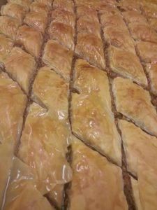 baklava and other great foods from Garen's Greens