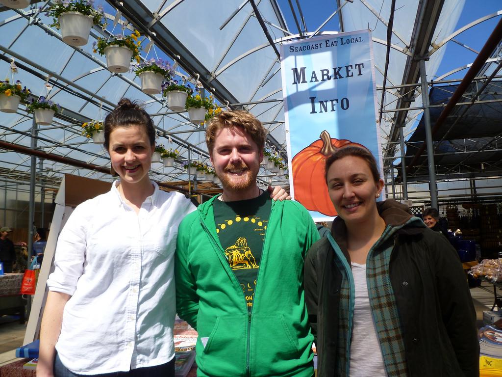 Caty, Leo, and Sarah