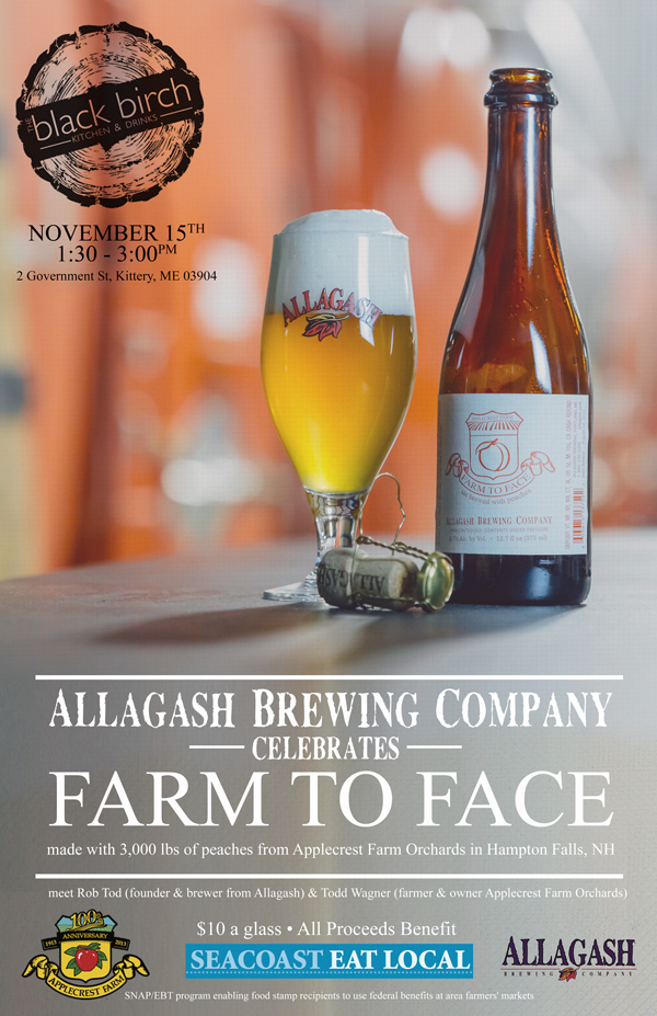 Farm to Face Allagash event