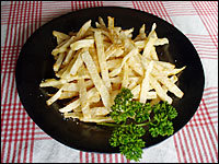 celeriac fries