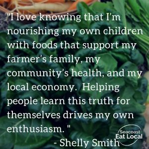 I love knowing that I'm - Shelly Smith